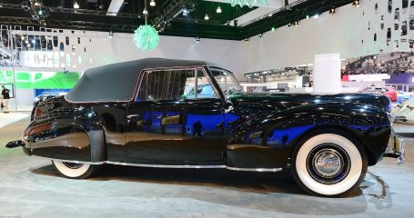 1940 Lincoln Continental Cabriolet at Lincoln's Heritage on Display at 2012 Los Angeles Auto Show