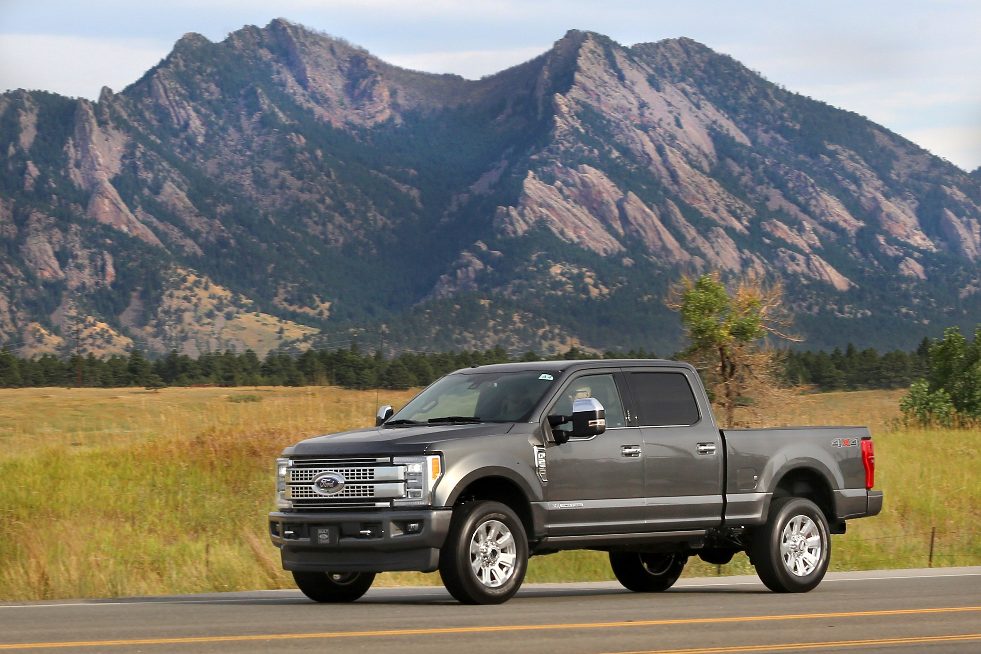 what is your idea of serious capability in a pickup truck is it the ability to move heavy loads effortlessly and luxuriously over vast distances