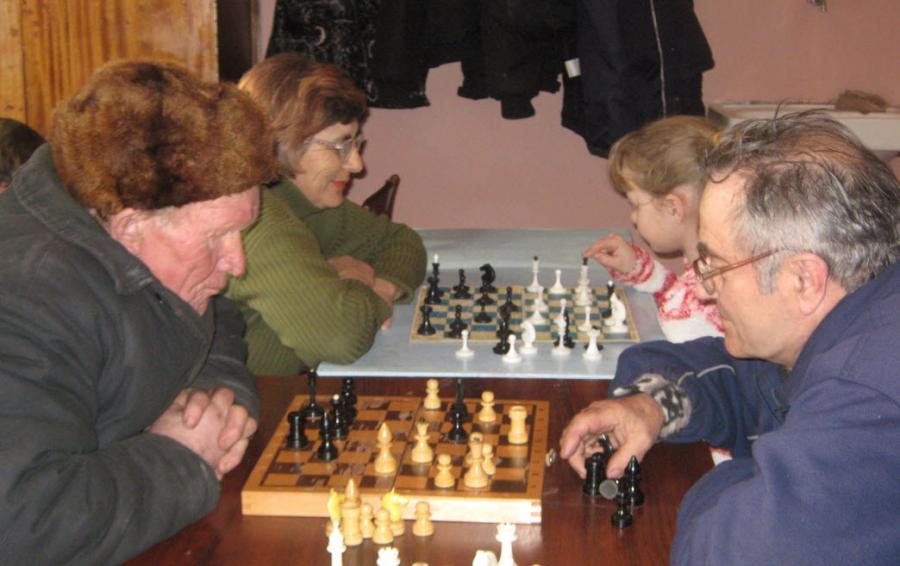 Королева шахматных полей.