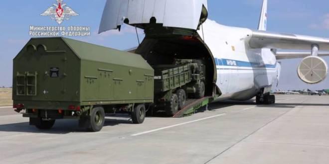 """الدفعة الثانية من منظومة """"اس -400 """" الروسية تصل تركيا"""