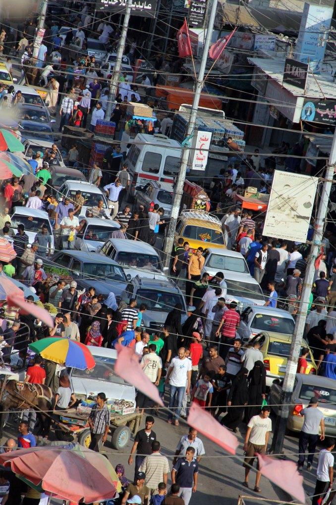 Downtown Gaza City