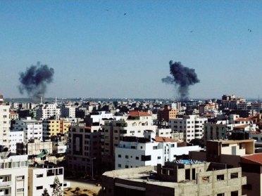Gaza under attack, July 2014