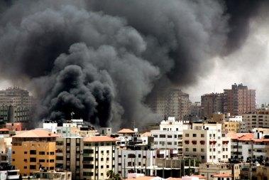 Bombing in Gaza City