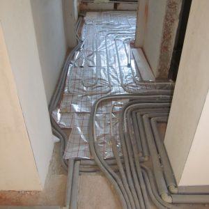 Монтаж теплої підлоги м.Тернопіль