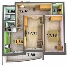 2 кімн 1
