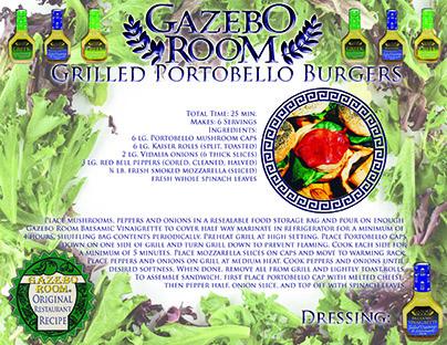 Grilled Portobello Burgers Original Restaurant Recipes Printable