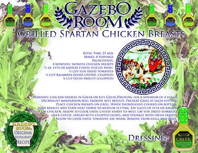 Grilled Spartan Chicken Breasts Original Restaurant Recipes Printable