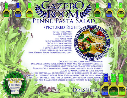 Penne Pasta Salad Original Restaurant Recipes Printable