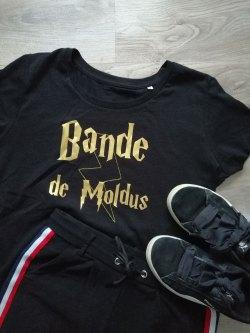 T-shirt Bande de Moldus