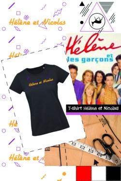 T-shirt Hélène et Nicolas