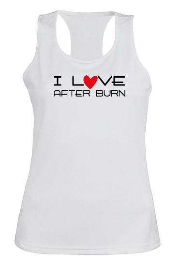 T-shirt-I love after burn
