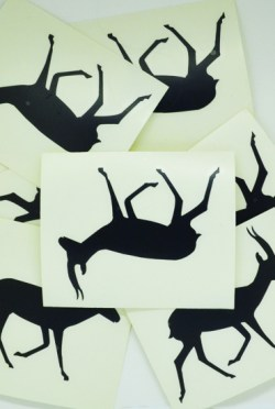 STICKERS-gazelle