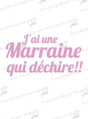 Bavoir Parrain/Marraine