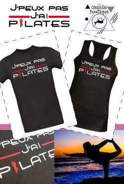T-shirt J'peux pas j'ai pilates