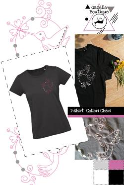 T-shirt Colibri Chéri