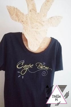 BRADERIE-T-shirt Carpe Diem
