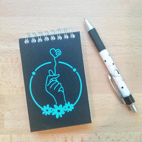 Mini Carnet- Le virus du coeur
