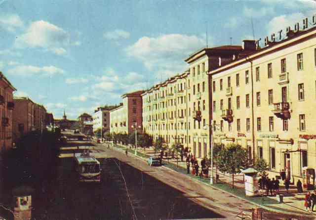 Кадр из фильма «Город на Онеге»