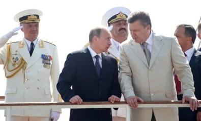 Замана-Янукович-путін