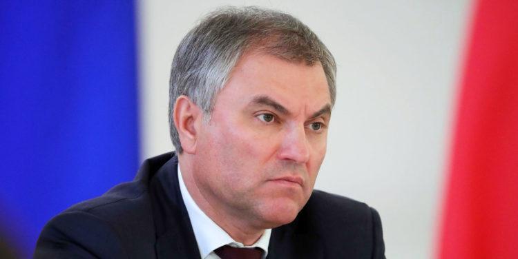 Вячеслав Володин заработал в 2019 году в 10 раз больше Владимира Путина
