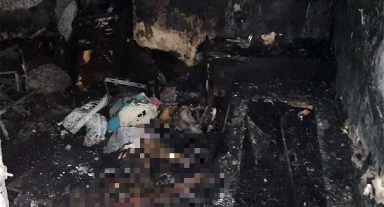 В пожаре на Комсомольской в Балаково погибла одинокая женщина