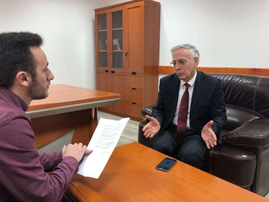 Intervista me ish-kryeparlamentarin Jakup Krasniqi   Foto nga Flamur Bublica