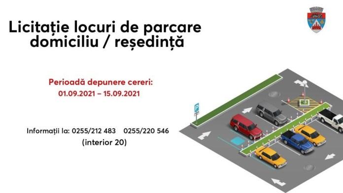publică parcări