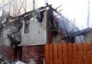Incendiu la o casă din Cluj. O persoană a murit carbonizată
