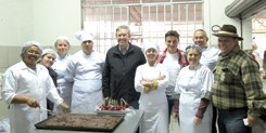 Visita ao Arraiá Culinário da Ceasa
