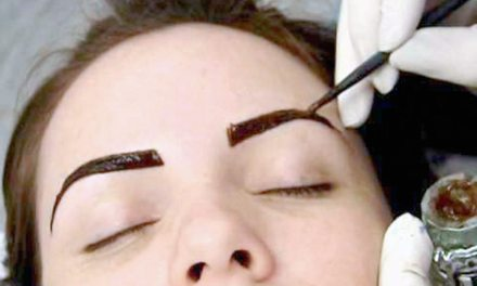 Sobrancelha de Henna, uma solução temporária