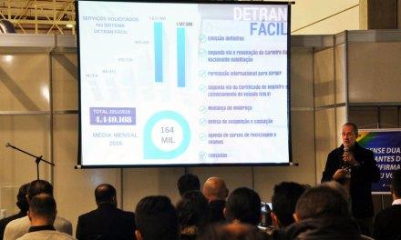 Nova ferramenta do Detran Paraná é destaque em evento de transporte e logística