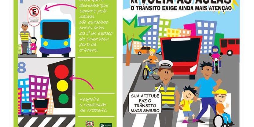 Setran faz operação especial de trânsito na semana da volta às aulas