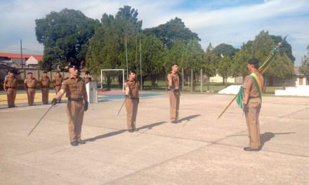 Novos oficiais do 13º Batalhão da PM