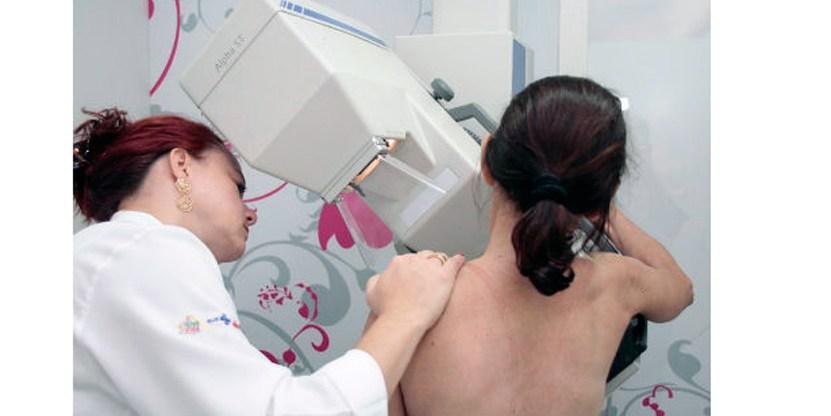 Mais da metade das mulheres sem preventivo de mamografia em 2016