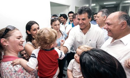 Richa sanciona lei que trata dos primeiros mil dias dos bebês