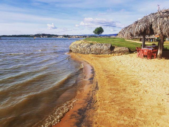 Praia das Arnos. Uma das mais belas praias de Palmas, Tocantins.