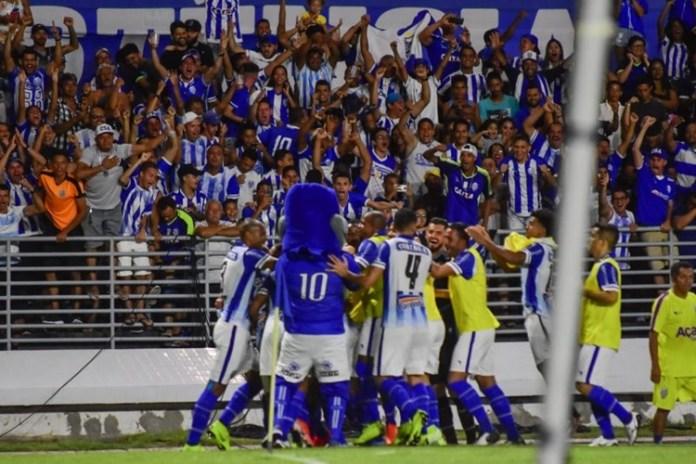 CSA vence o Corinthians. Foto: Francisco Cedrim/RCortez/CSA