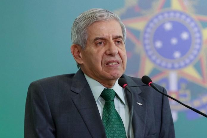 Augusto Heleno. Foto: Marcos Corrêa/PR