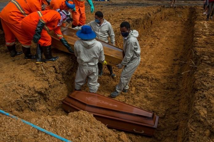 Mortes por coronavírus no Brasil. Foto: Alex Pazuello/Semcom