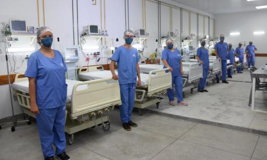 Para a abertura desses 10 leitos, a SES realizou a contratação da empresa Innmed Gestão em Saúde LTDA, responsável pela contratação de profissionais de Saúde, equipamentos e insumos