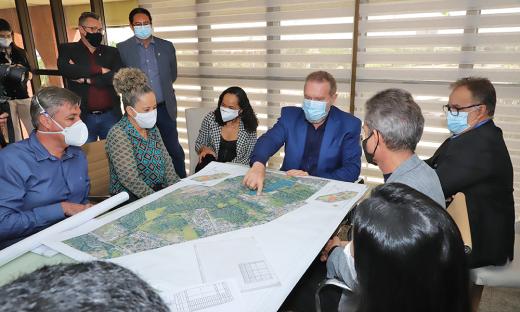 Prefeita Josi Nunes afirmou que o projeto terá uma visibilidade grande e a Gestão poderá optar pela proposta mais inovadora e interessante, que preserve melhor toda a região