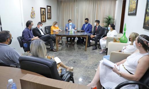 Vice-governador reforçou a decisão do governador Mauro Carlesse em retomar de forma gradual as aulas presenciais no Estado do Tocantins