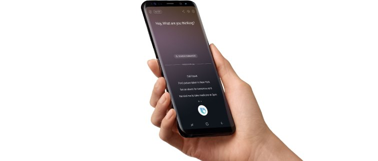 galaxy note8 bixby