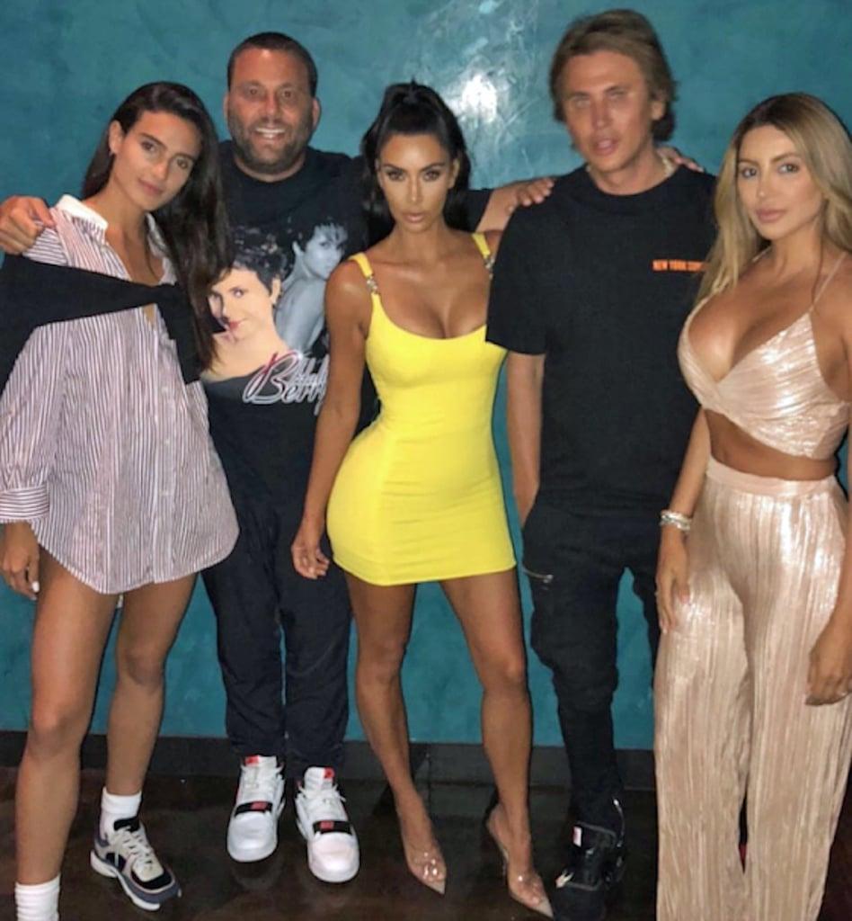 Kim-Kardashian-Yellow-Vintage-Versace-Dress-2018