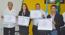 O quarteto oposicionista: Renato Arruda, Maria José, Cazoel e Edimar Dias
