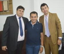 Vice Júnior, Raimundinho e Aleandro Passarinho