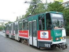 Se reia circulaţia tramvaiului 102