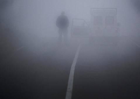 Prahova – sub ceaţă/Se dă cu antiderapant pe DN1