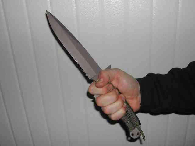 Dragoste de mamă/L-a tăiat cu cuţitul la gât