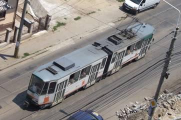Sâmbătă, tramvaiele de pe traseul 102 vor fi înlocuit cu autobuze